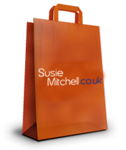 Susie Mitchell Shopping bag thanks for ordering inspirational/motivational products